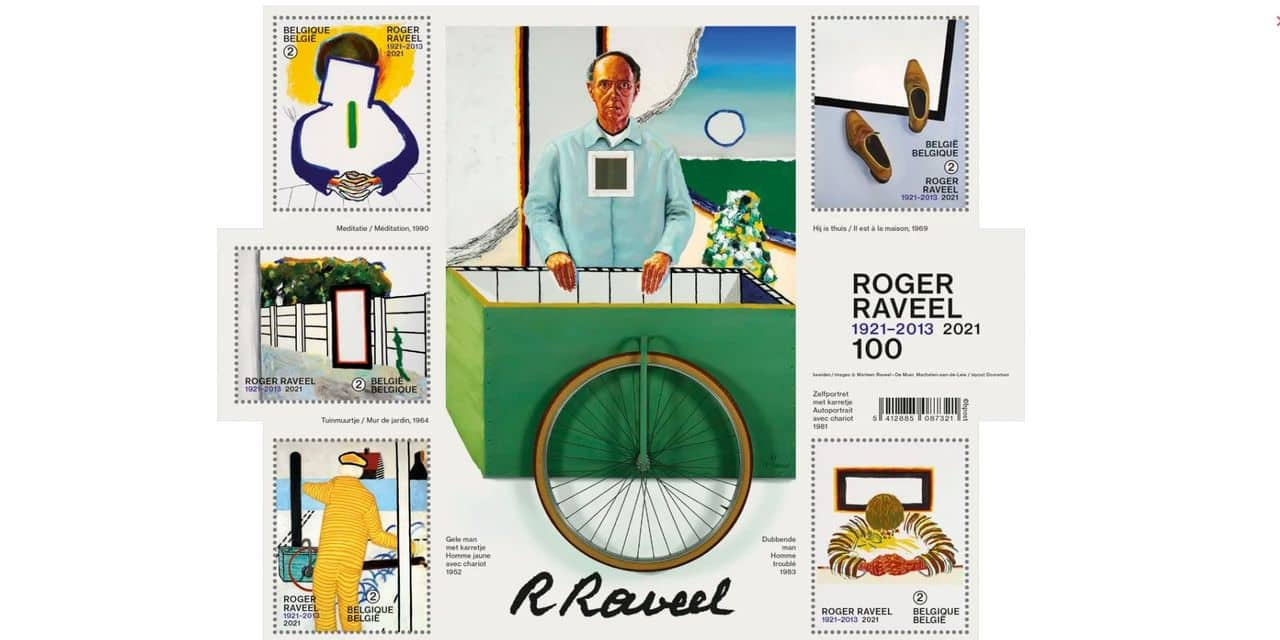 Bpost dévoile sa collection de timbres-poste pour 2021