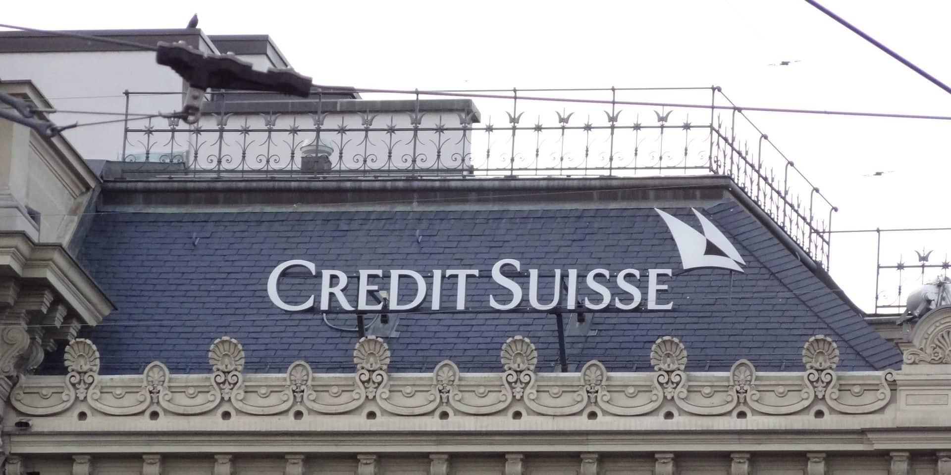 Credit Suisse: démission du directeur des opérations après la filature d'un banquier star