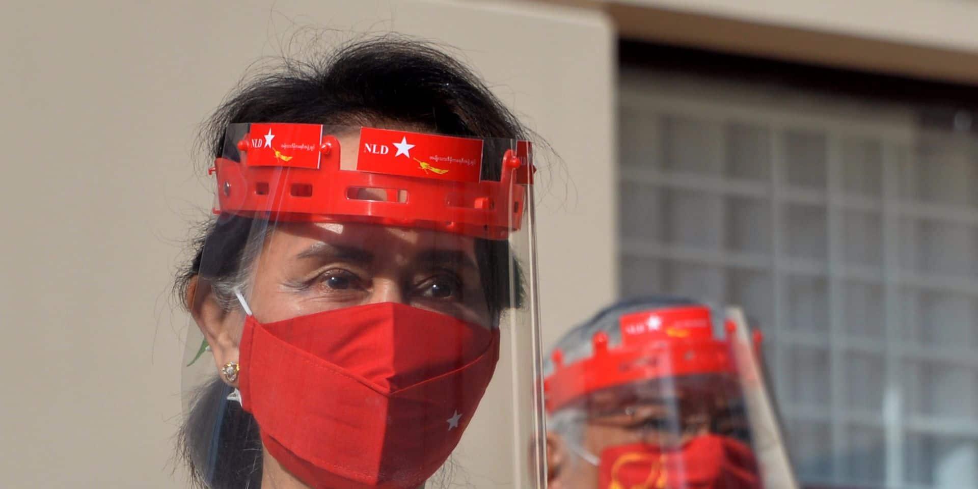 L'opposante birmane Aung San Suu Kyi exclue de la communauté des lauréats du prix européen Sakharov