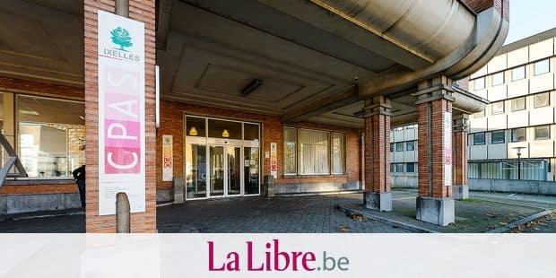Bruxelles - Ixelles: CPAS Ixelles